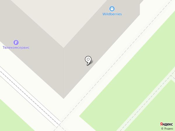 Ростелеком для бизнеса на карте Ленинска-Кузнецкого