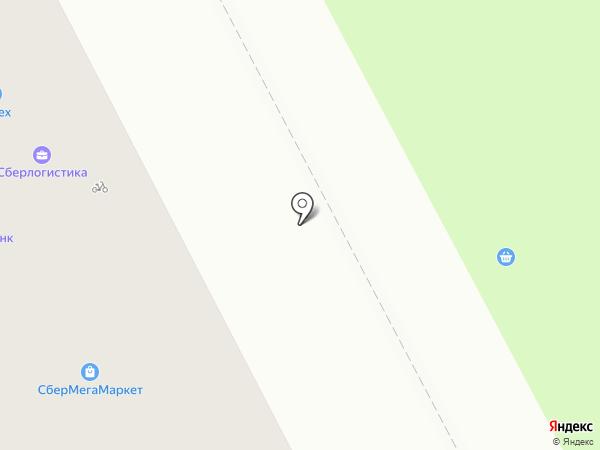 Ярмарка на карте Кемерово