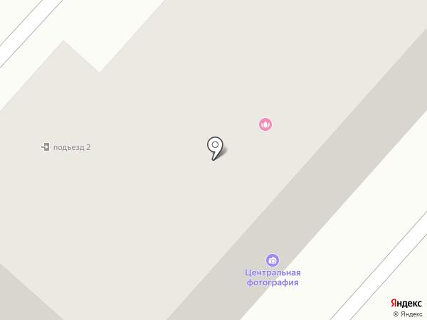 Кнопик на карте Ленинска-Кузнецкого