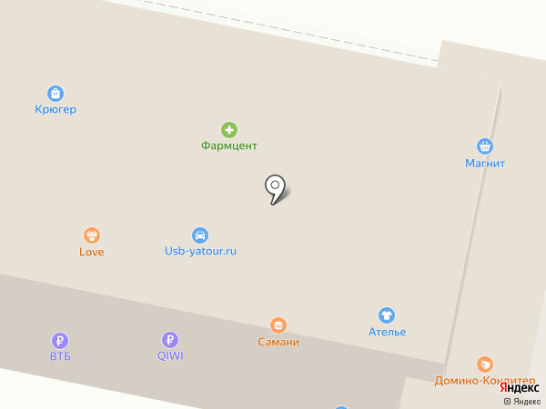 Фармагрош на карте Ленинска-Кузнецкого