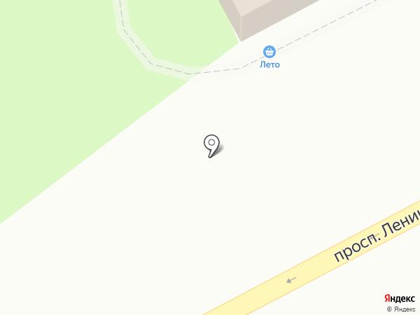Лето на карте Кемерово