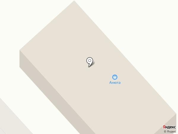 Анюта на карте Дудинки