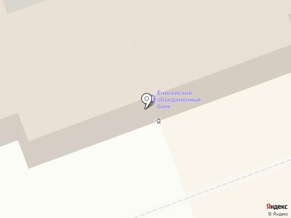 АИКБ Енисейский объединенный банк на карте Дудинки