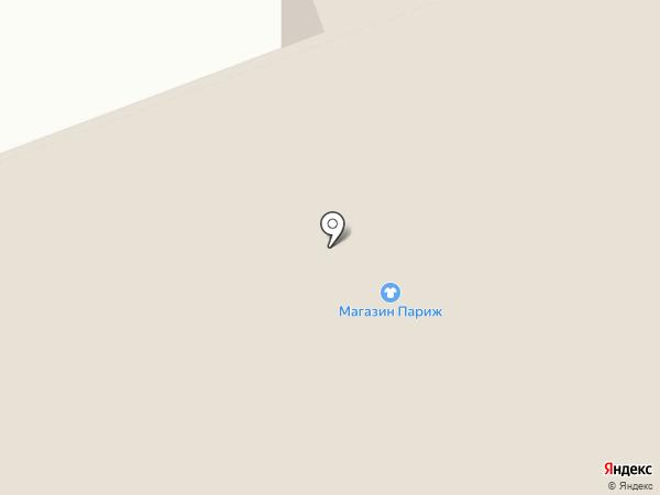 Цирюльник на карте Дудинки