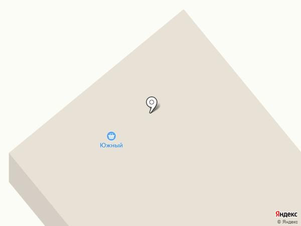 Южный на карте Дудинки