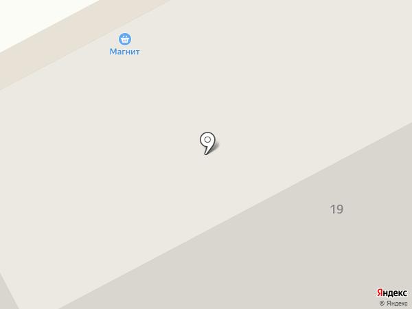 Магнит на карте Кемерово