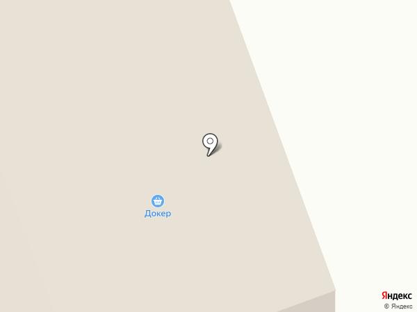Медведь на карте Дудинки