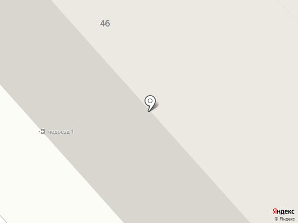 Бускан на карте Дудинки