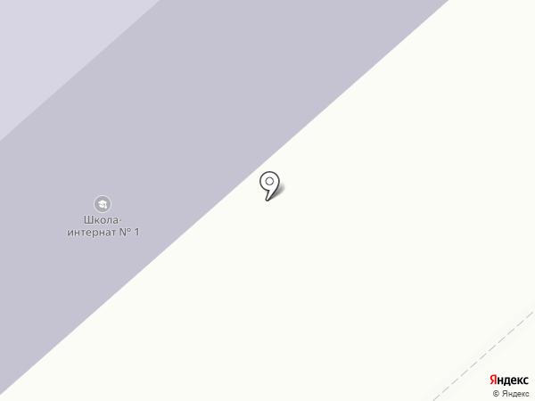 Дудинская средняя школа №1 на карте Дудинки
