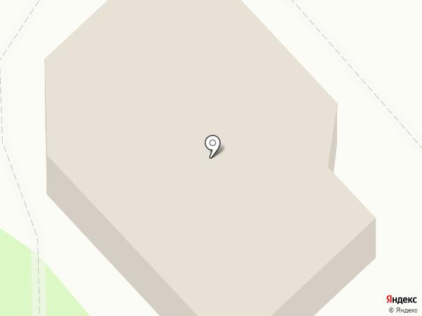 Тройка на карте Дудинки