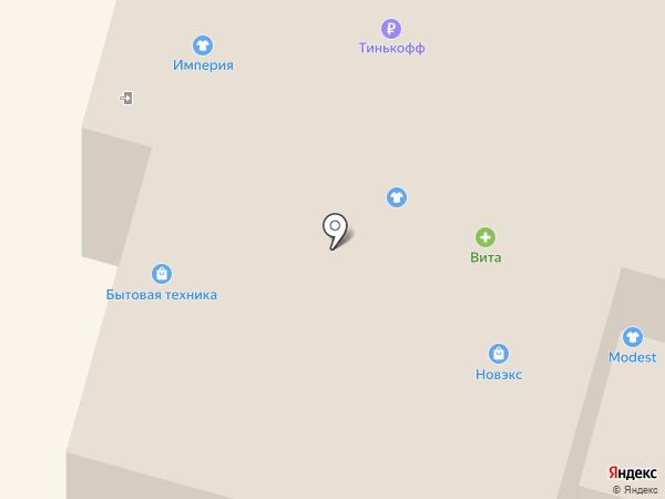 Сибвез на карте Ленинска-Кузнецкого