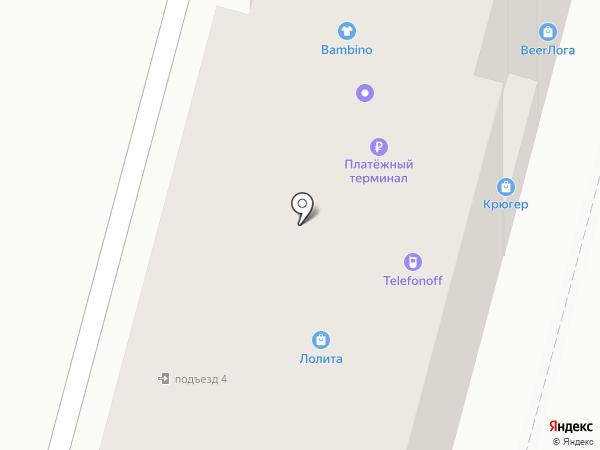 Клёв на карте Ленинска-Кузнецкого