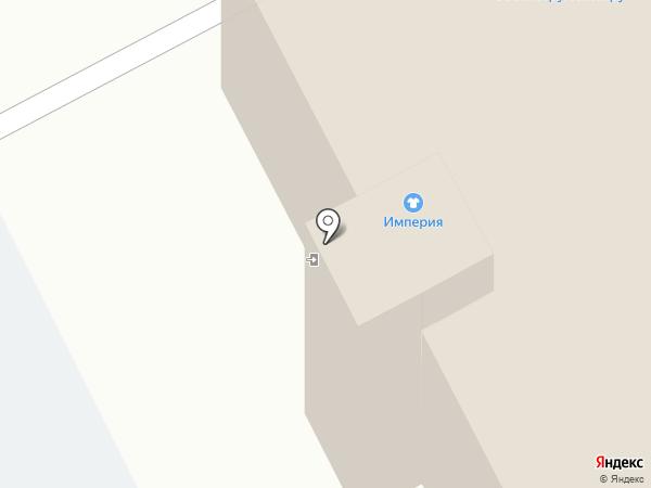 Вензель на карте Кемерово
