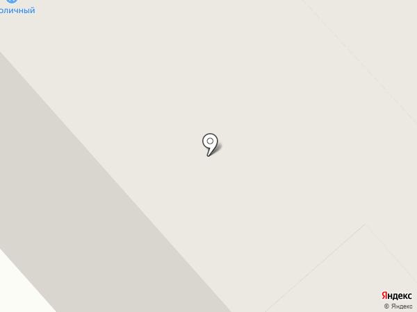 Столичный на карте Дудинки