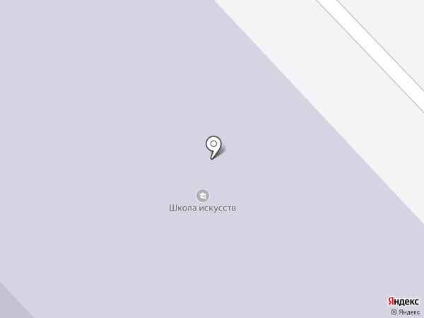 Детская школа искусств им. Б.Н. Молчанова на карте Дудинки