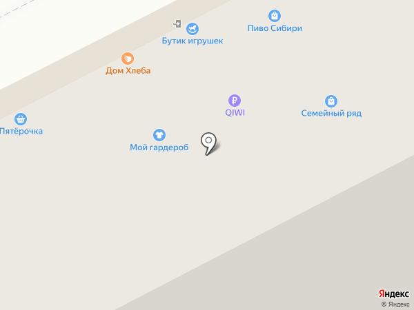 Магазин трикотажных изделий на карте Кемерово