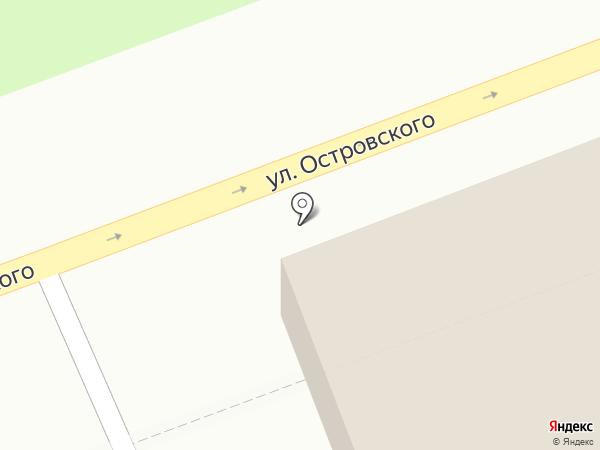 Восток на карте Дудинки