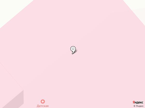Детская поликлиника на карте Дудинки