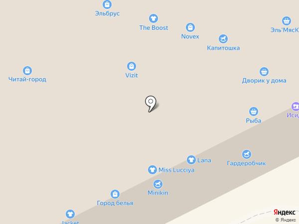 Славянка на карте Кемерово