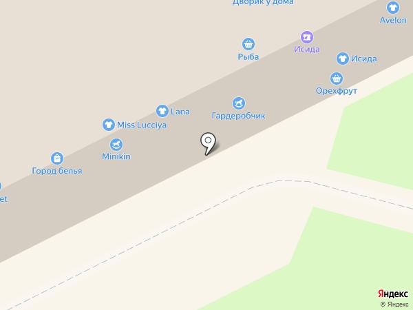 Николь на карте Кемерово