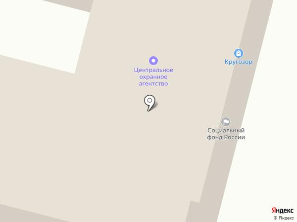 Кругозор на карте Ленинска-Кузнецкого