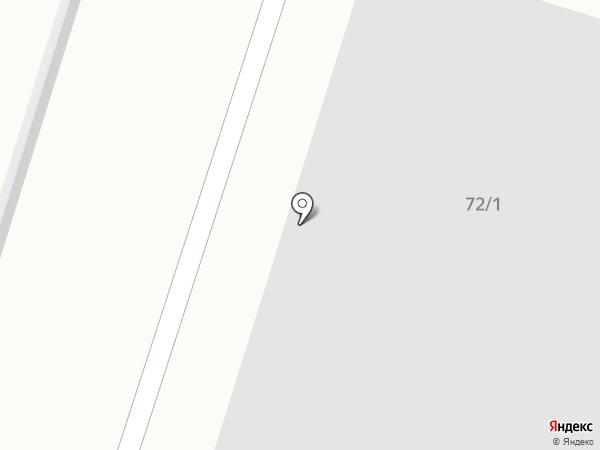 Автомойка на карте Ленинска-Кузнецкого