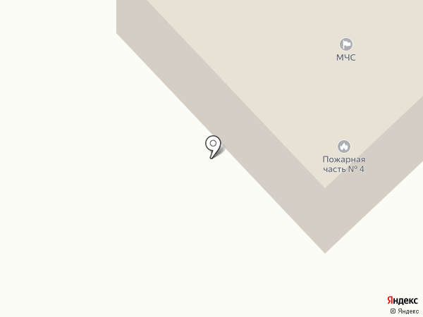 Отдел надзорной деятельности и профилактической работы г. Ленинск-Кузнецкого на карте Ленинска-Кузнецкого