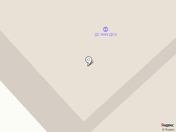 Дудинский спортивный комплекс на карте Дудинки
