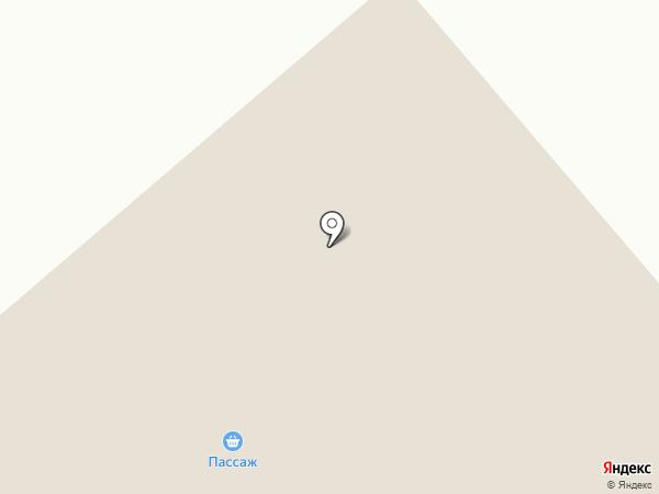 Пассаж на карте Дудинки