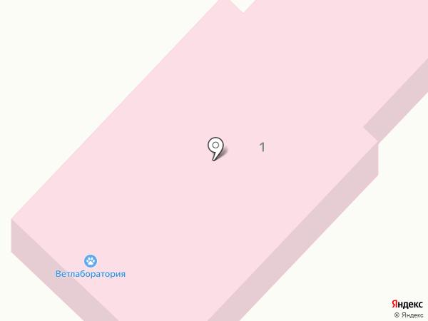 Межрайонная ветеринарная лаборатория на карте Ленинска-Кузнецкого