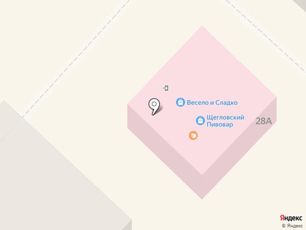 Магазин разливных напитков на карте Ленинска-Кузнецкого