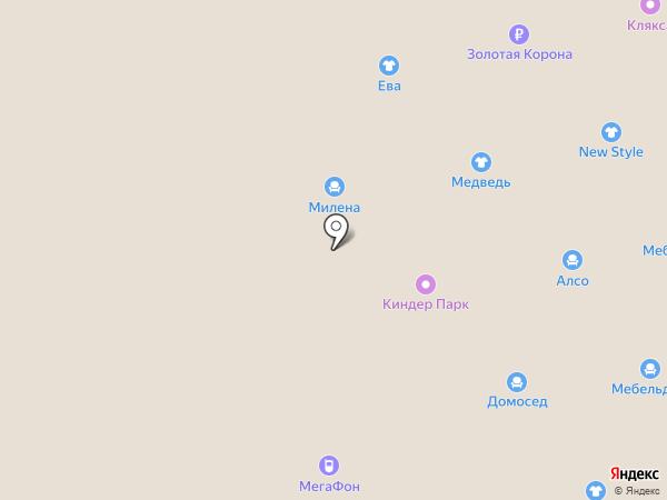 S & D на карте Ленинска-Кузнецкого