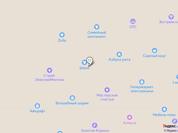 Fashion GIRL на карте Ленинска-Кузнецкого