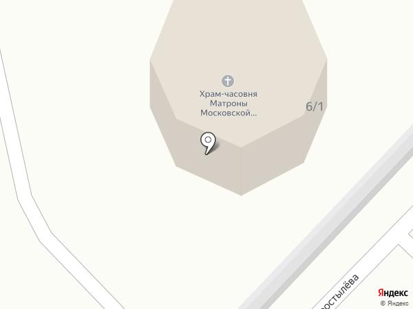 Иконная лавка на карте Ленинска-Кузнецкого