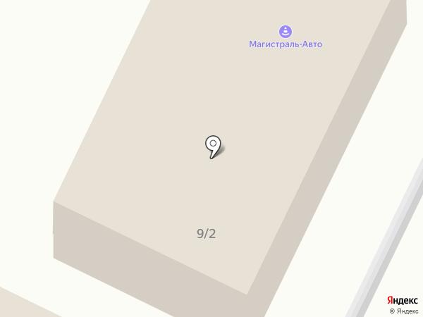 Магистраль-Авто на карте Ленинска-Кузнецкого