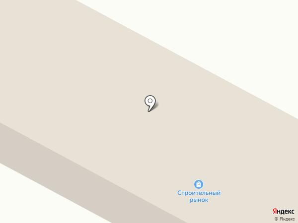 Строитель на карте Ленинска-Кузнецкого