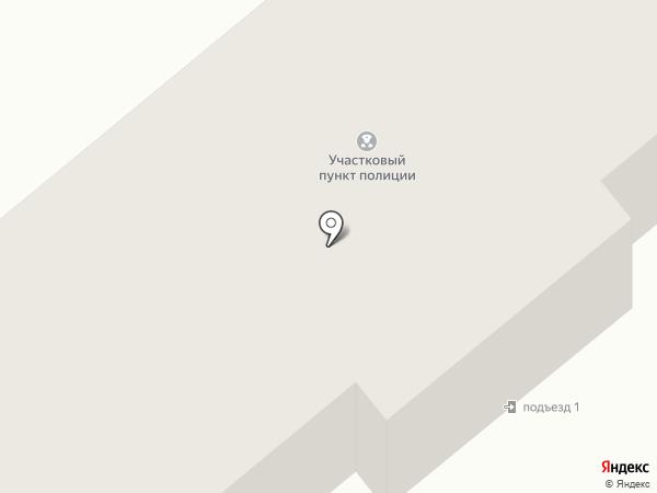 Участковый пункт полиции на карте Ленинска-Кузнецкого