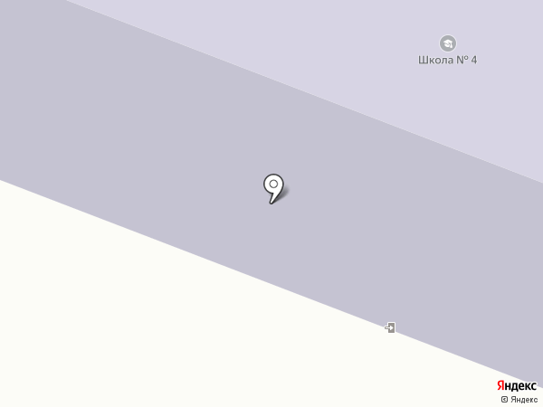 Средняя общеобразовательная школа №4 на карте Дудинки