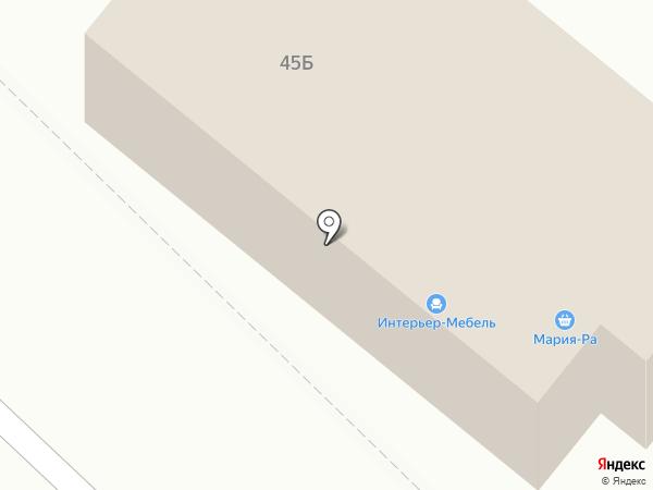 Сеть мебельных салонов на карте Ленинска-Кузнецкого