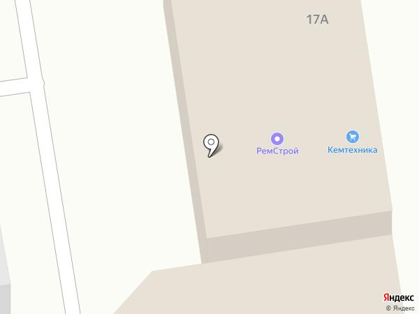 Универсал на карте Ленинска-Кузнецкого