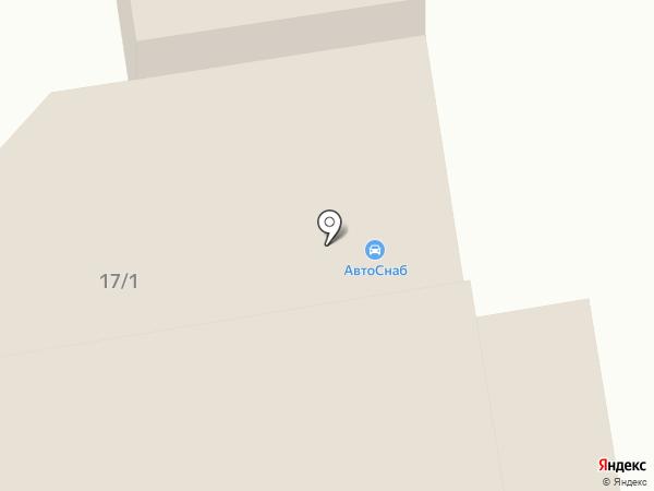 АвтоСнаб на карте Ленинска-Кузнецкого