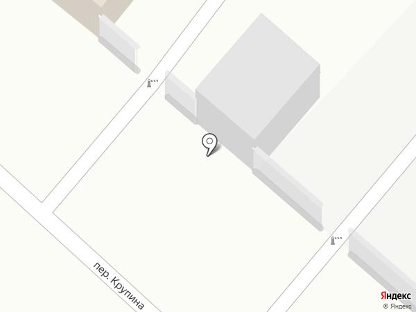 Камень памяти на карте Ленинска-Кузнецкого
