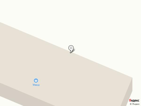 Умка на карте Дудинки