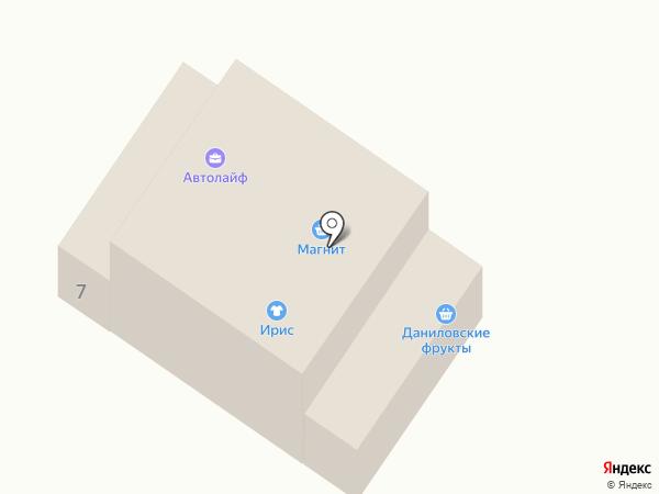 Компания по автострахованию на карте Ленинска-Кузнецкого