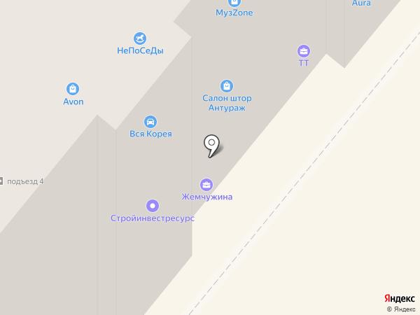 Жилищный фонд Кемеровской области на карте Ленинска-Кузнецкого