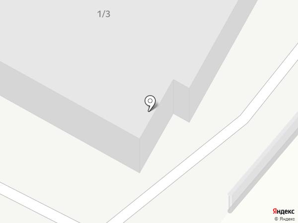 Транзит на карте Ленинска-Кузнецкого