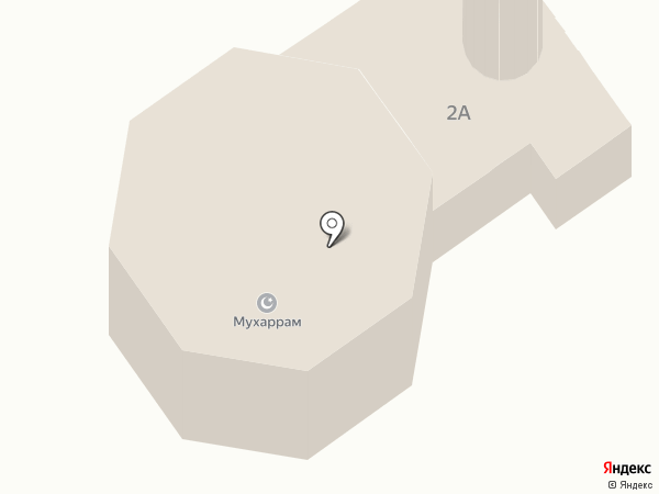 Мухаррам на карте Ленинска-Кузнецкого