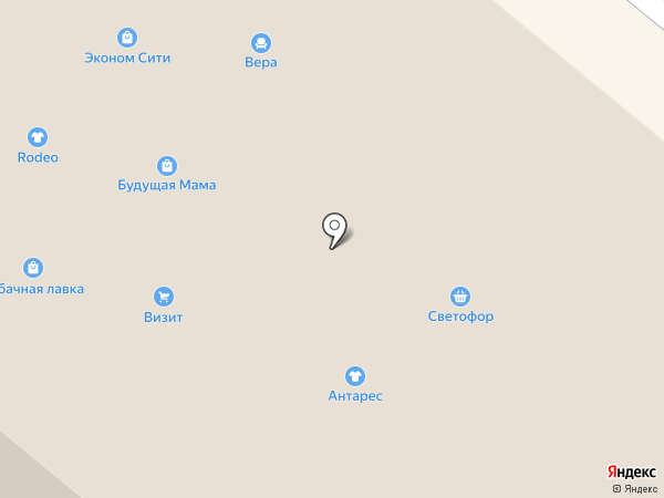 Светофор на карте Ленинска-Кузнецкого