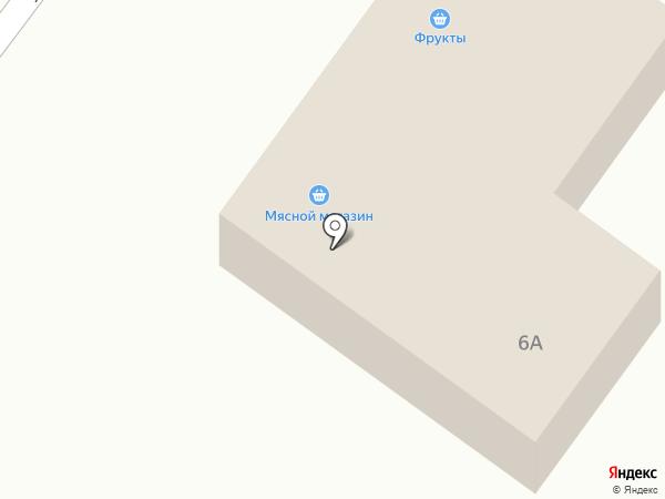Мясной магазин на карте Ленинска-Кузнецкого