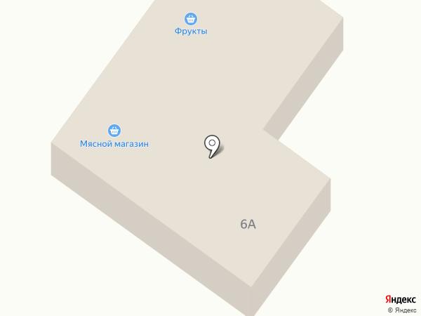 Магазин фруктов и овощей на карте Ленинска-Кузнецкого